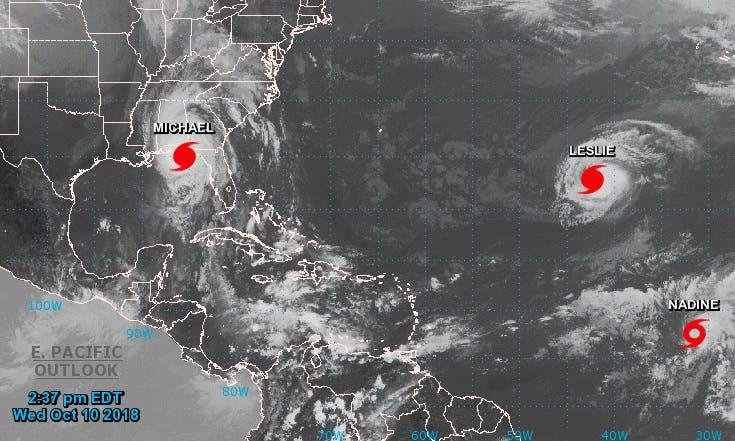 """Michael toca tierra en la costa de Florida con vientos """"catastróficos»"""