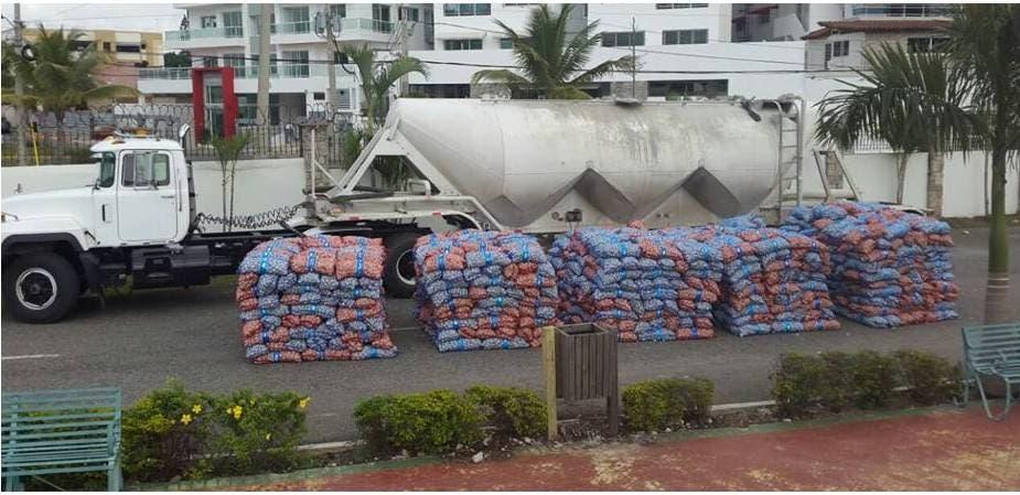 Autoridades decomisan cargamento de ajo y detienen cuatro