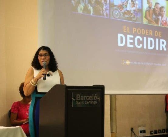 Sonia Vásquez, representante nacional del UNFPA República Dominicana 1