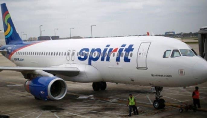 Aerolínea Spirit inicia vuelos directos entre Santo Domingo y Orlando, Estados Unidos