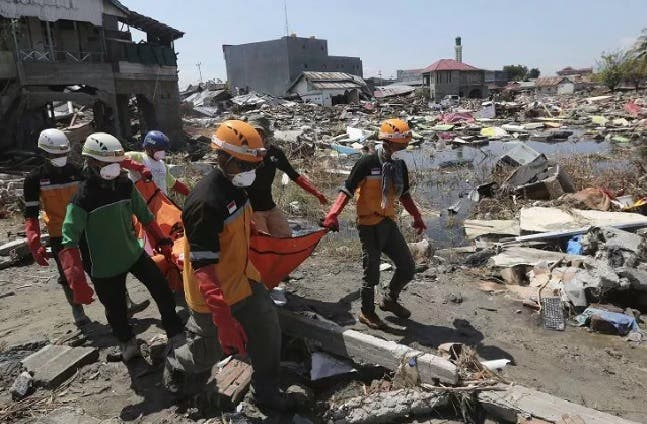 El sismo del sábado también destruyó cuatro escuelas/Foto: Fuente externa.