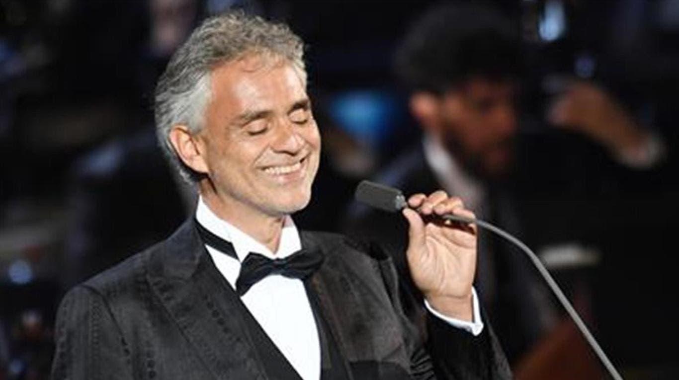 """En el mercado, """"Sí"""", nuevo disco inédito de Andrea Bocelli en 14 años"""