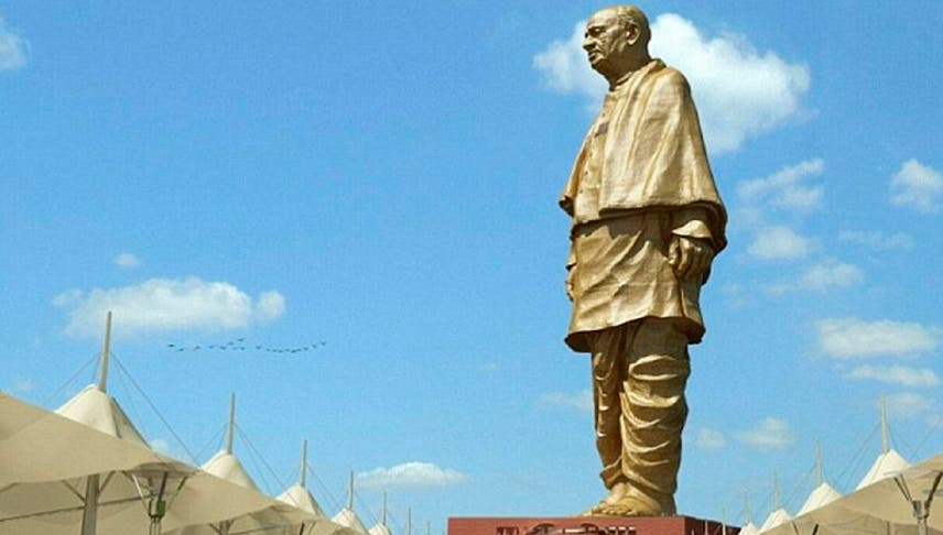 """India levanta la estatua más grande del mundo en honor al """"hombre de hierro»"""