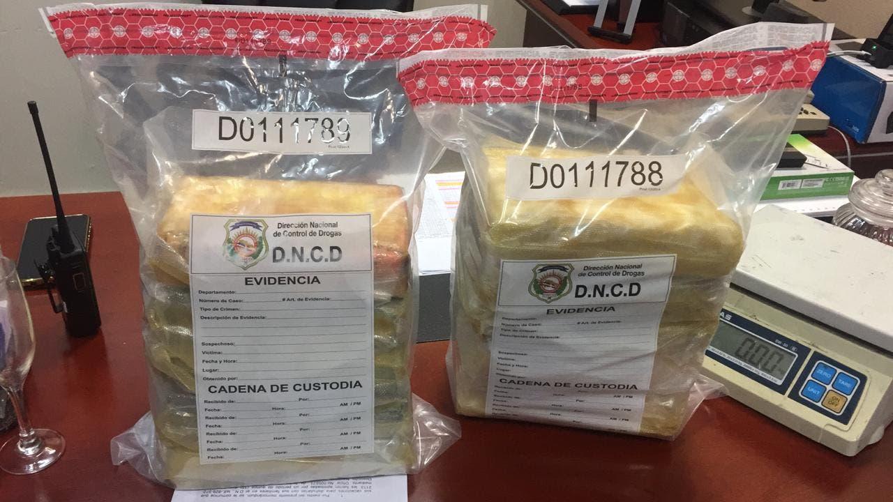 Ocupan cargamento de 278 paquetes de cocaína en las costas de Bayahibe