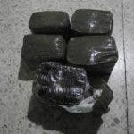 foto 5 paquetes de Hachis incautado por DNCD-3