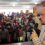 (foto) SANTIAGO.- Quique Antún habla en la reunion en el local del partido.-2018-10-28-15-29-47