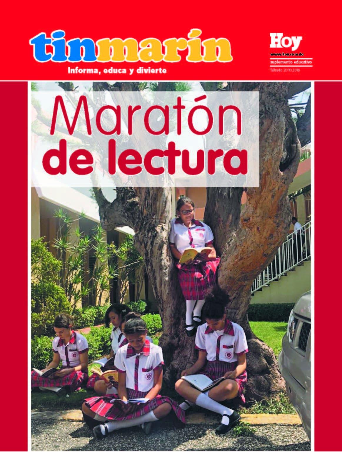portada Tinmarín, sabado 20  de octubre ,2018
