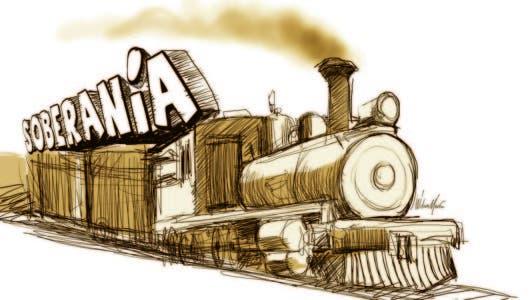El tren que se llevó la soberanía