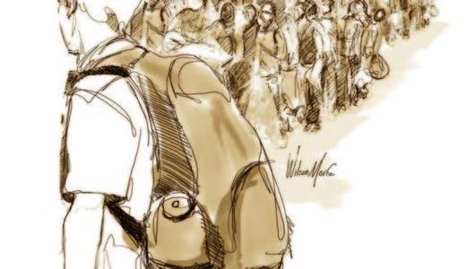 Las migraciones en búsqueda de la supervivencia