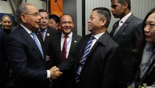 Los detalles de la llegada del presidente Danilo Medina a Beijing, China