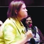 Diputada Graciela Fermín Nuesí. Hoy/ Cortesia Diario Libre 21/11/18