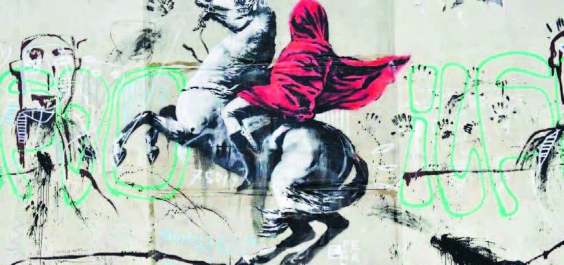 Un antiguo supermercado expone a Banksy  sin permiso
