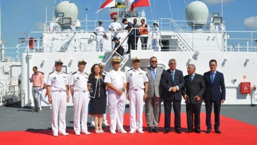 Llega a Santo Domingo  buque hospital de China Arca de la Paz