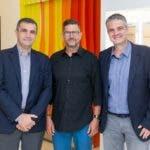Rostros. Doglas.  Andrés Latorre, Angel González y Antonio Tolo