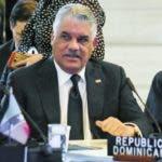 El canciller Miguel Vargas viajó este martes a Guatemala para participar en laXXVI Cumbre Iberoamericana de Jefes de Estado y de Gobierno, en representación del presidente Danilo Medina.  Hoy/Fuente Externa 13/11/18