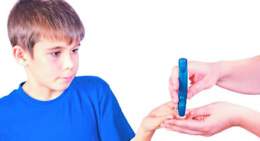 Acompañamiento de niños  con diabetes  es fundamental