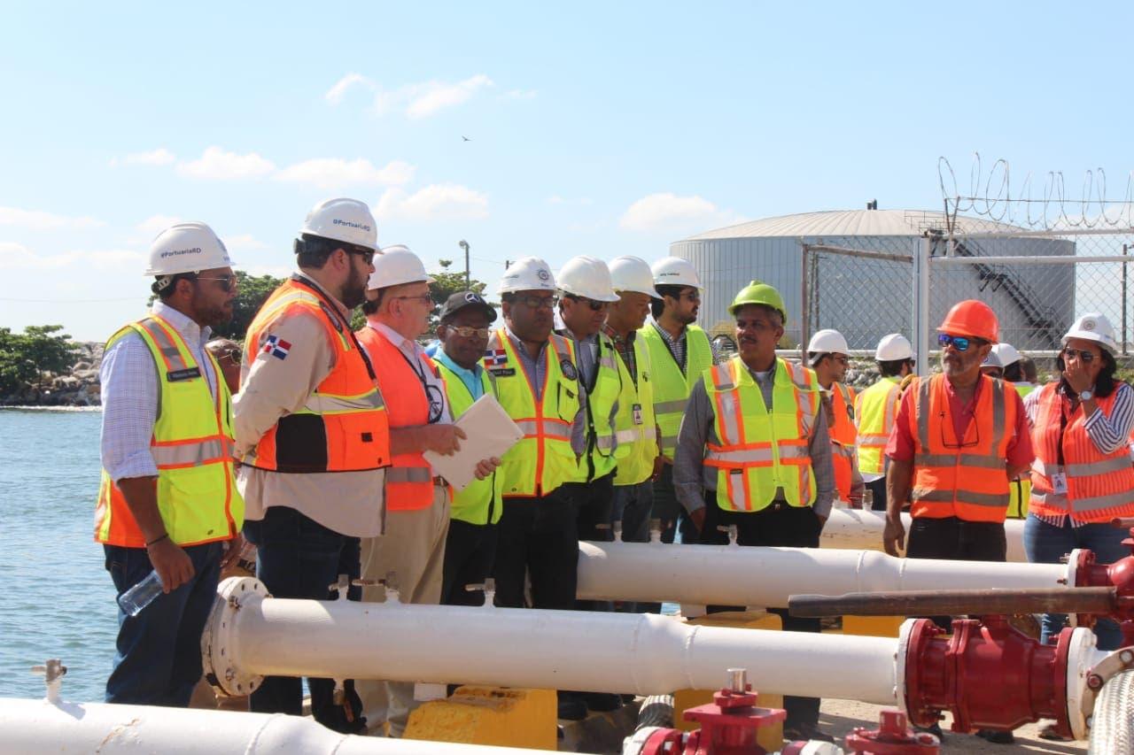 Analizan  estado de las tuberías utilizadas para descarga de productos químicos en puertos