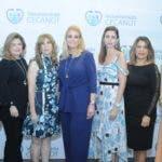 Rostros. Mamma Mia!   Patricia Alvarez, Lucía Corripio, Gina Majluta, Ana Marranzini, Gina Haché, Ana Matilde Cruz y Luisa Valdez.