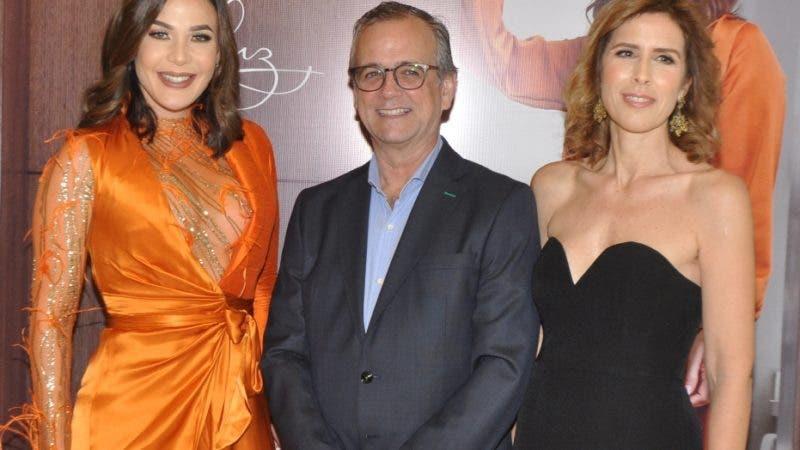 Rostros. Luz García. Luz García, Laureano urgal y Ruth Saracho
