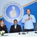 Rueda de Prensa por José Ignacio Paliza Presidente de  PRM. Hoy/ Arlenis Castillo/07/11/18.