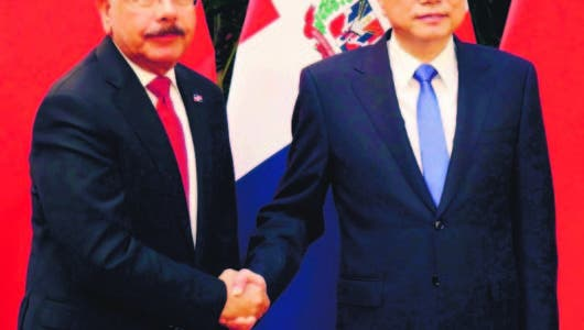 El presidente chino Xi Jinping recibió a Danilo Medina; se firmaron acuerdos
