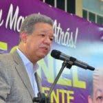 Leonel Fernández elogia perseverancia y consistencia de dirigencia y militancia del PLD. Fuente externa 11/11/2018