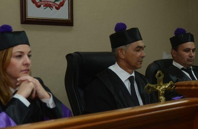 el Tribunal Superior Administrativo (TSA) Santo Domingo Rep. Dominicana.  20 de noviembre del 2018. Foto Pedro Sosa
