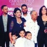 puesta en circulacion el libro mujeres de grandes  liga de carolina cruz de martinez/hoy/carlos alonzo/15/11/2018