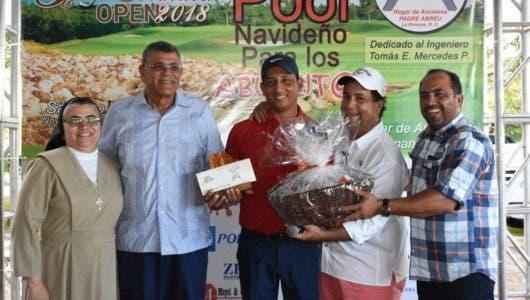 Rodríguez  gana torneo de golf  a beneficio  Hogar de Ancianos en LR