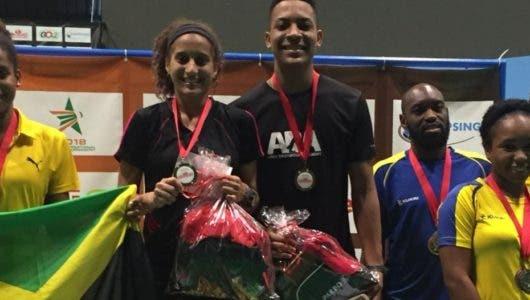 Brito y Polanco ganan oro en Badminton