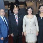 Rostros. Tribunal Constitucional. La vicepresidenta Margarita Cedeño de Fernández junto a el presidente del Tribunal Constitucional  Milton Ray Guevara y los jueces