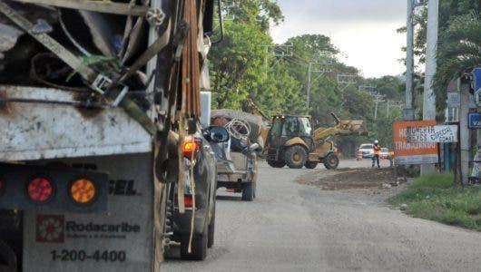 Sigue detenida reconstrucción vía Navarrete-PP