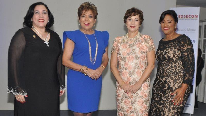 Rostros. ADME.  Nelly Sánchez, Olga de los Santos, Velkis Cocco e Indiana Tamares