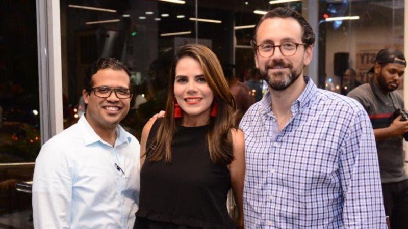 Rostros. Yaja. Juan Naveo, Michelle Guzmán y Marcos Sánchez