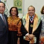 Rostros. Héctor Valdez Albizu, Fior de Valdez, Miguel Reyes Sánchez y Clarissa de la Rocha de Torres
