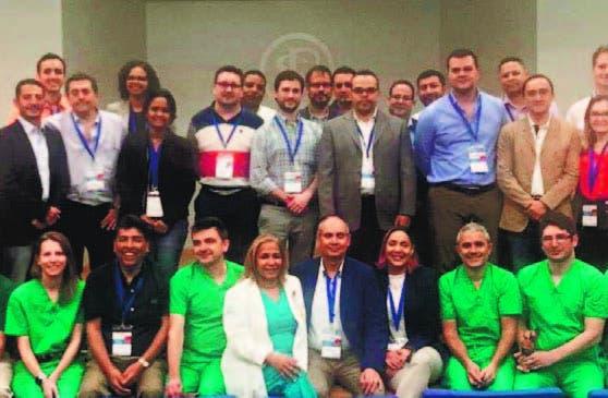 Algunos de los especialistas participantes.