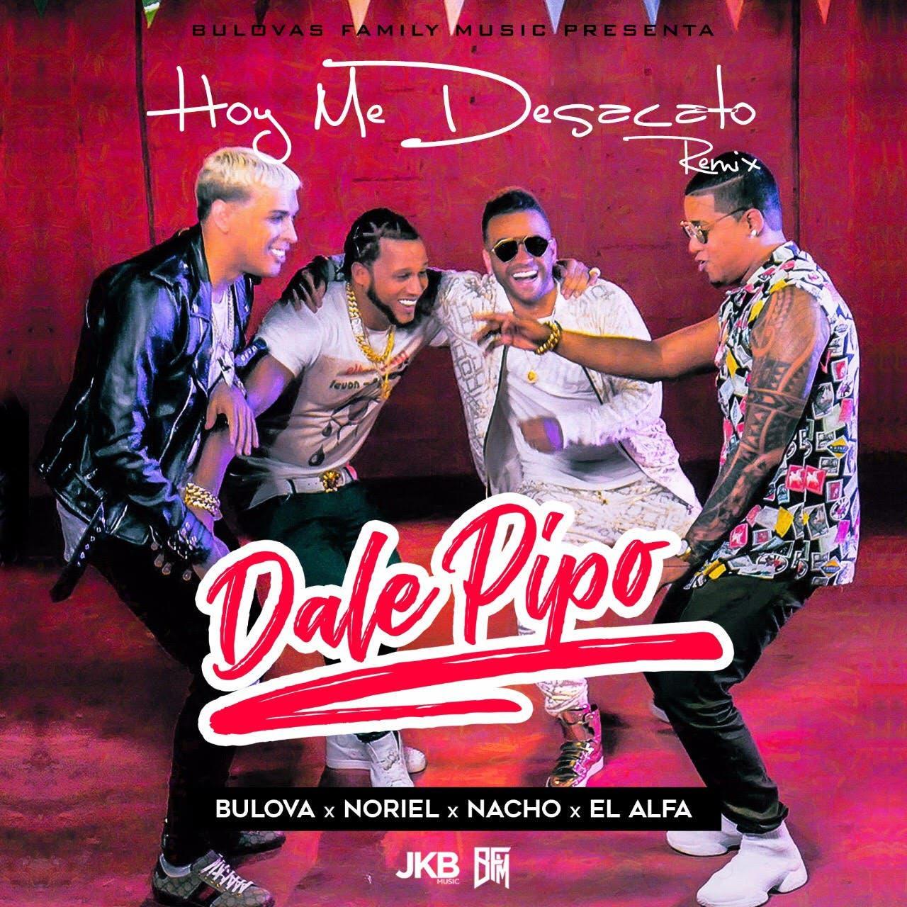"""Bulova corona un gran año con remix """"Dale pipo"""", junto a Nacho, Noriel y El Alfa"""