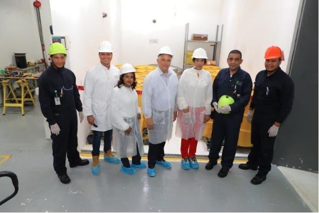 Director CNE y viceministra de Energía Nuclear visitan Centro de Gestión de Materiales Radiactivos