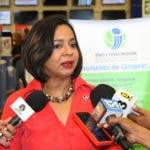 Directora de Pro Consumidor Dra. Anina Del Castillo