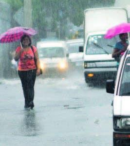 Las lluvias siguen hasta el viernes