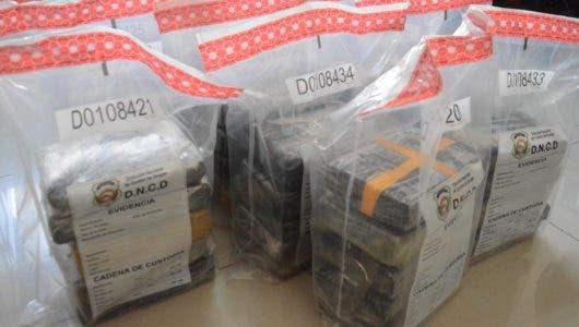 Decomisan 85 kilos de cocaína en el Puerto Multimodal Caucedo