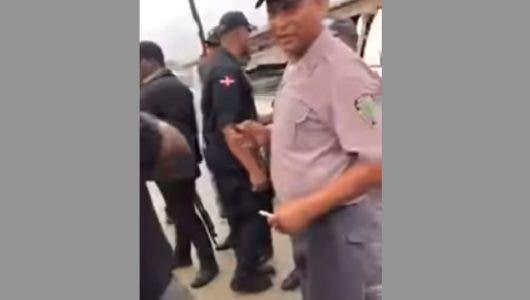 Teniente coronel golpeó con el puño a un hombre en Los Frailes es suspendido por la Policía
