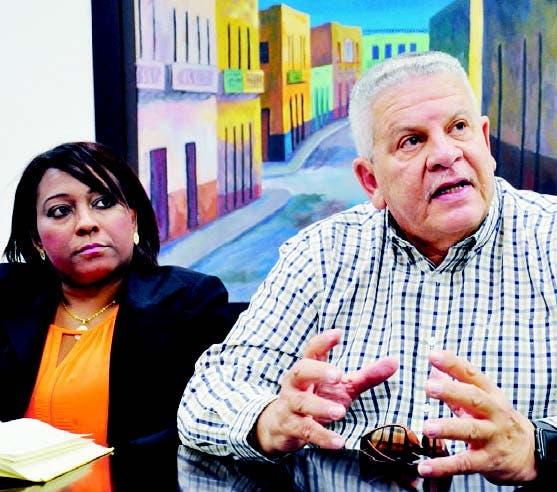 Luis Rodríguez y Vianela Taveras, presidente y gerente de la empresa
