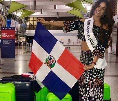 Aldy Bernard viaja a Tailandia para representar al país en el Miss Universo
