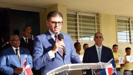 Magistrado Justo Pedro Castellanos, juez del TC anuncia las actividades del mes de la Constitución