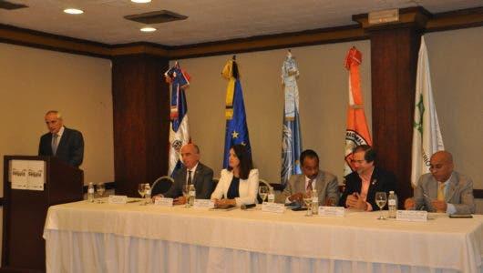 Mesa de honor Lanzamiento proyecto Resiliencia a la Sequía