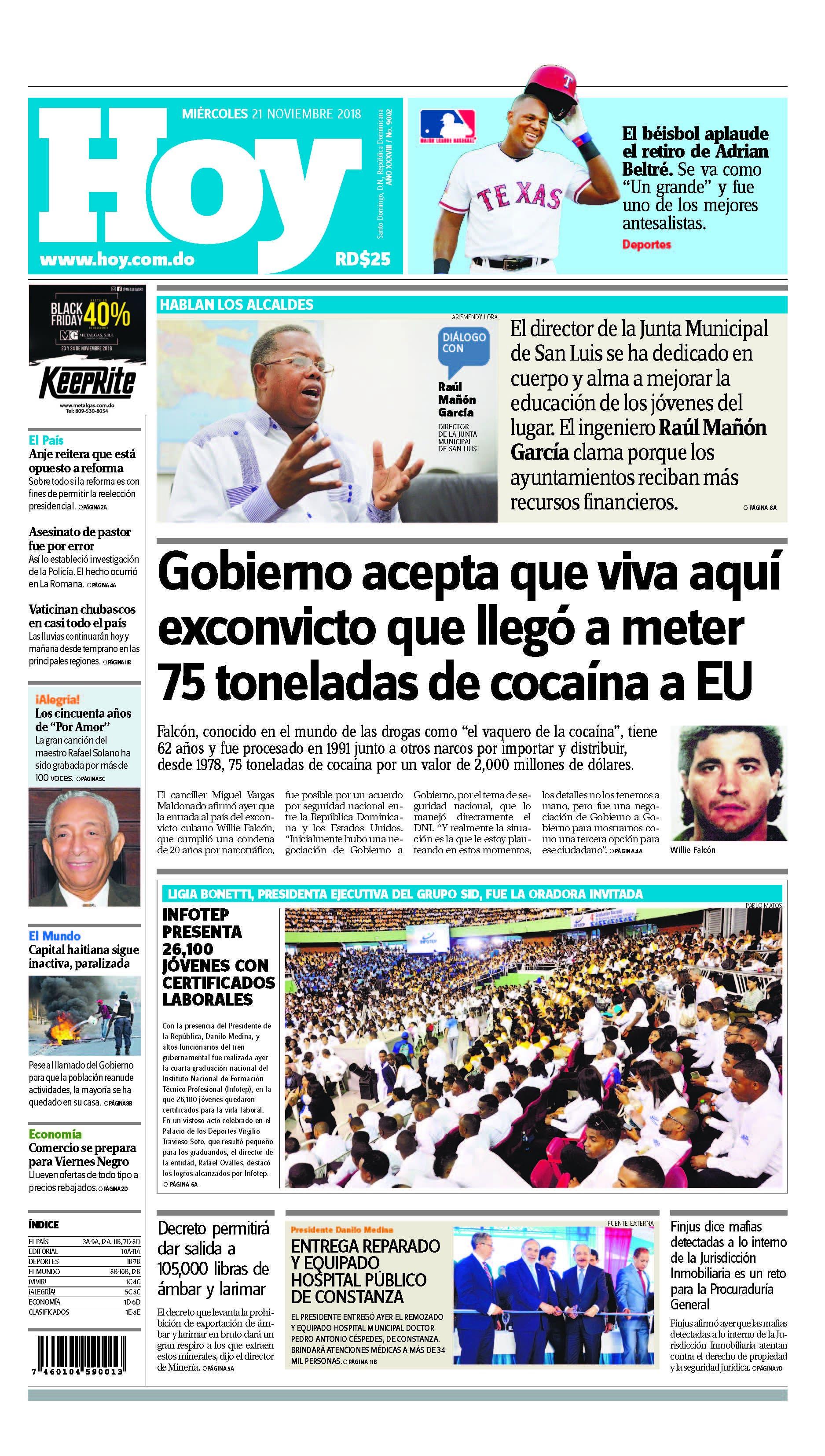 Pages from Edición impresa HOY miércoles 21 de noviembre del 2018