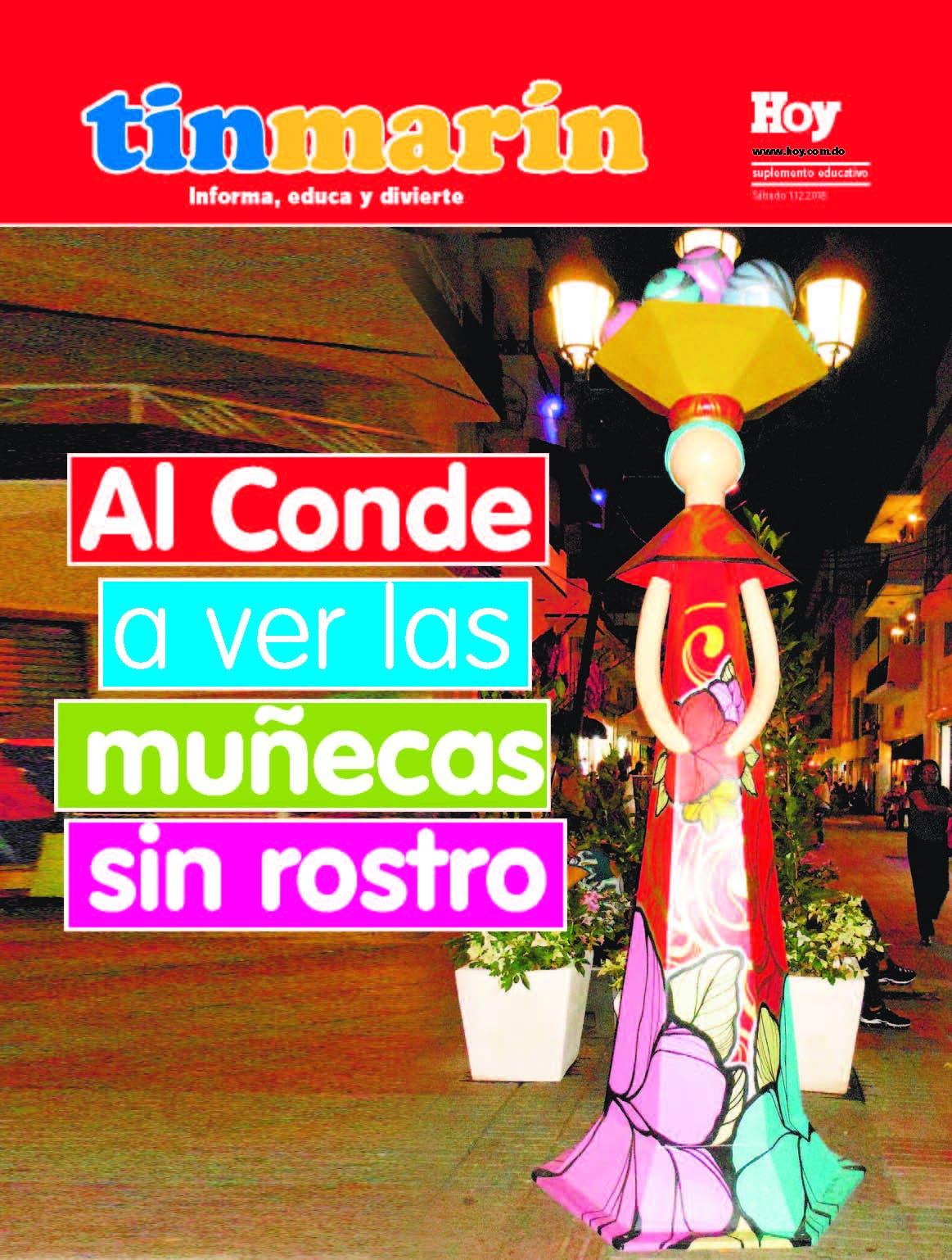 Portada Tinmarín, sábado 01  de diciiembre, 2018