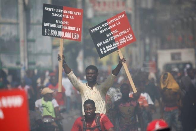 Miles exigen en Haití investigación sobre Petrocaribe; registran un muerto y varios heridos