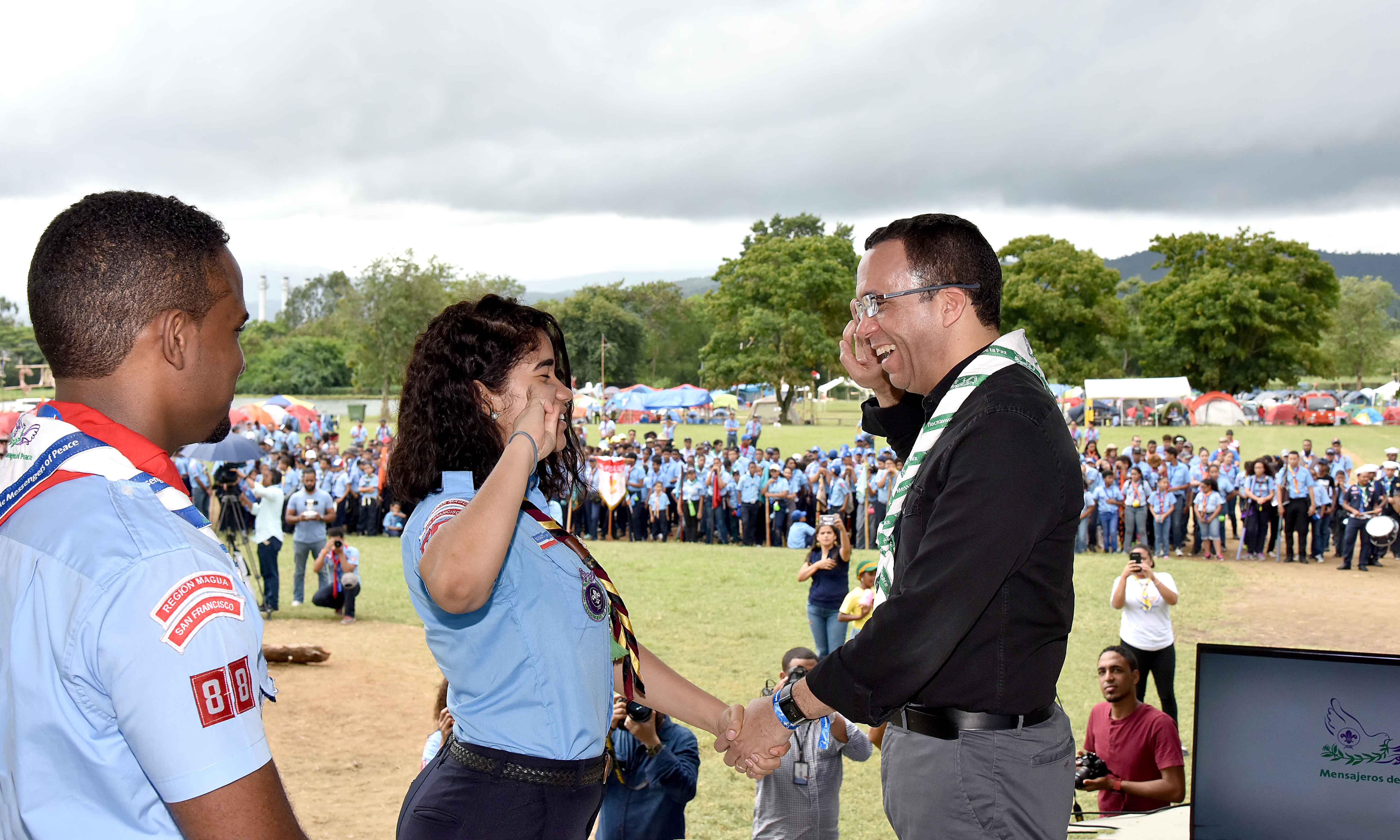 Navarro asegura que el movimiento scouts creará nuevos líderes en las escuelas
